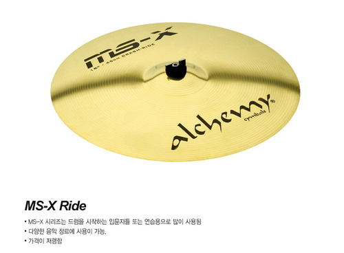 Istanbul Agop MSX R20in