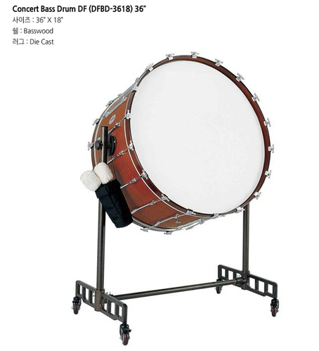 콘서트 DF Concert Bass Drum DFBD-3618 36인치